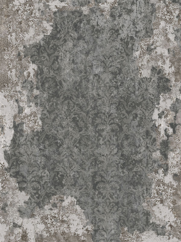 Forgotten Manor Charcoal Printed Photography Backdrop