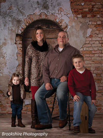 Luciano Printed Photography Backdrop