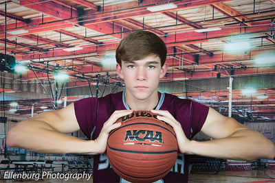 Basketball Gym Printed Photography Backdrop