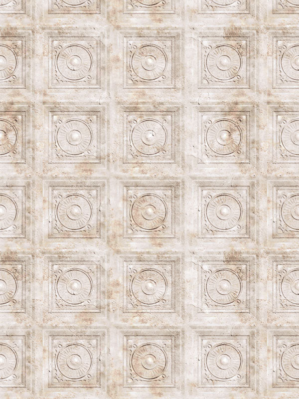 Ivory Tiles Printed Photography Backdrop