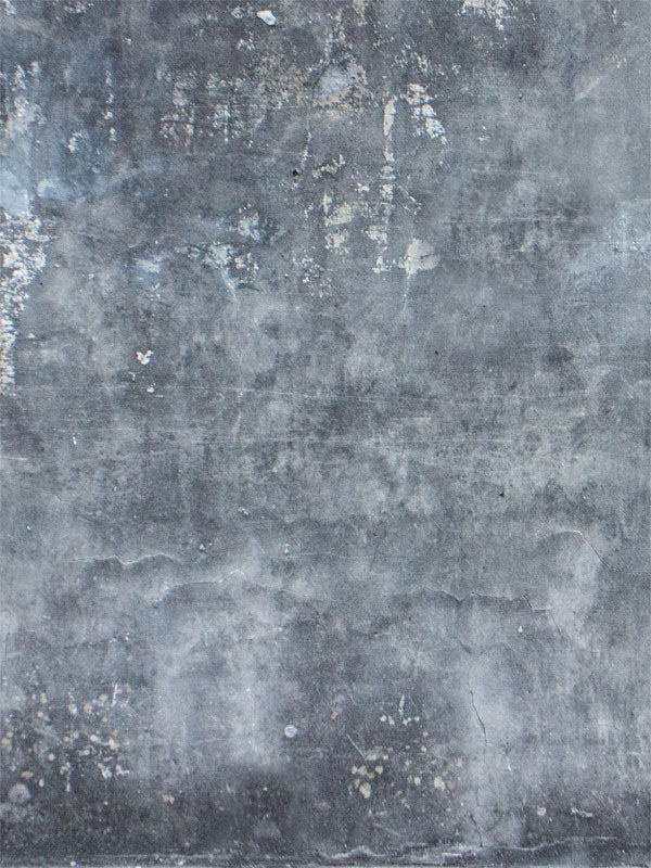 Weathered Cement Wall Printed Photography Backdrop