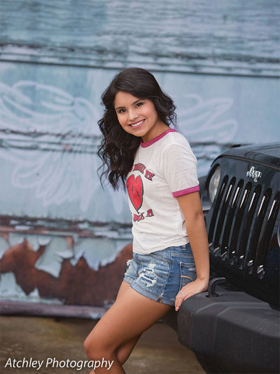 Angel Garage Printed Photography Backdrop