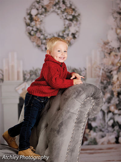 Deck the Halls Printed Photography Backdrop