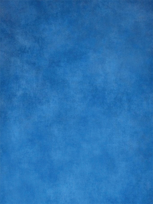 School Blue Printed Photography Backdrop