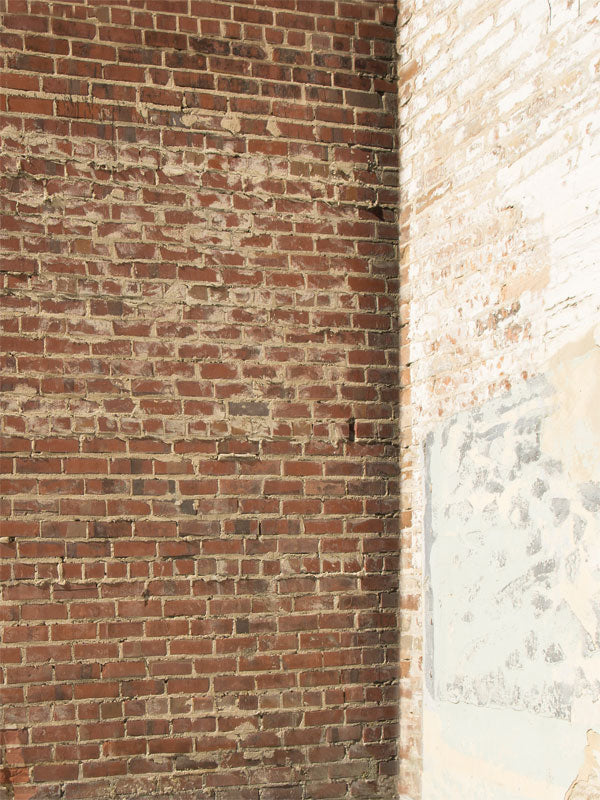 Brick Contrast Corner Printed Photography Backdrop