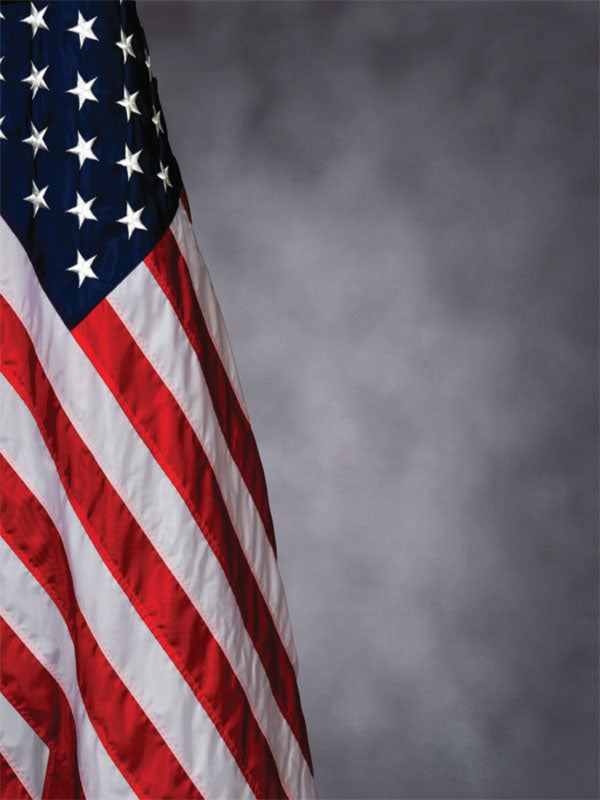 Classic U.S. Flag Printed Photography Backdrop