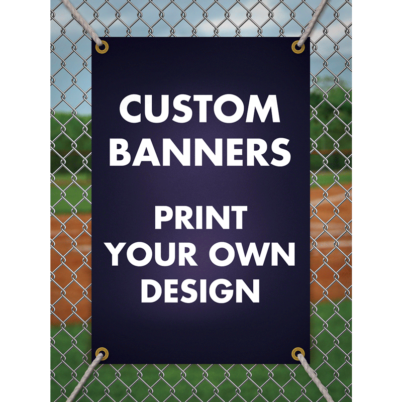 Custom Birthday Vinyl Banner
