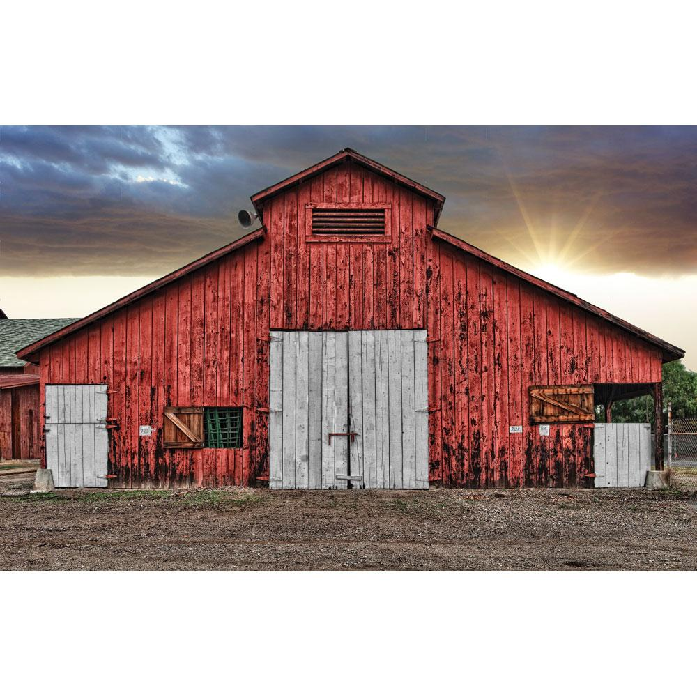 Rustic Red Barn Country