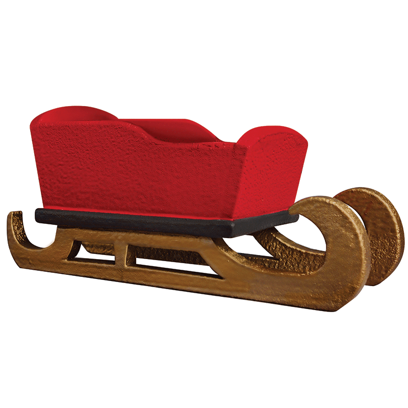 Newborn Baby Christams Sled