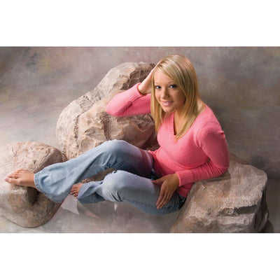 Faux Rock 3 Tier Posing Prop