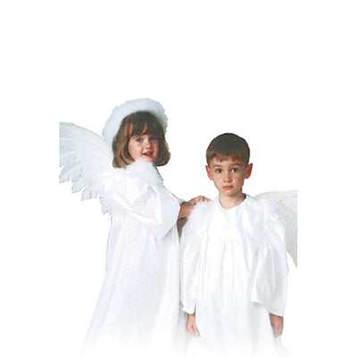 White Unisex Choir Robe