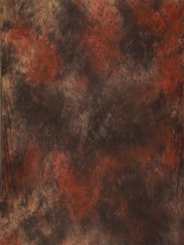 Terra Cotta Brown Muslin Backdrop