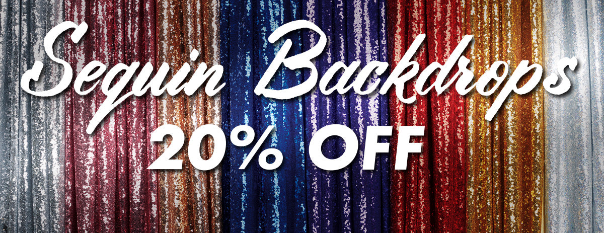 In celebration of Cinco De Mayo, Denny Manufacturing is offering 30% off your ENTIRE ORDER. Don't miss this opportunity to save BIG on your dream backdrops!