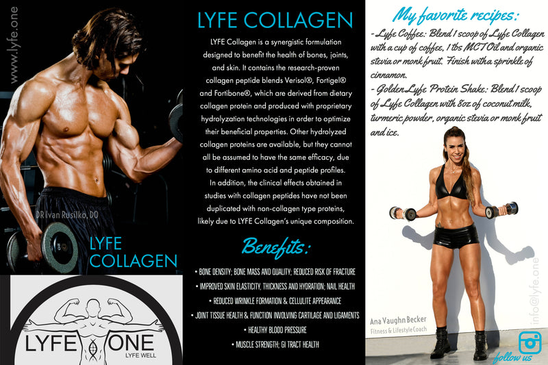 LYFE COLLAGEN Peptide Protein (SOLD OUT)