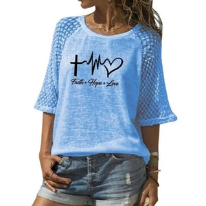 Faith Hope Love Top