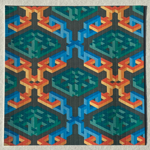 Load image into Gallery viewer, Hanging Gardens Blotter Art Prints