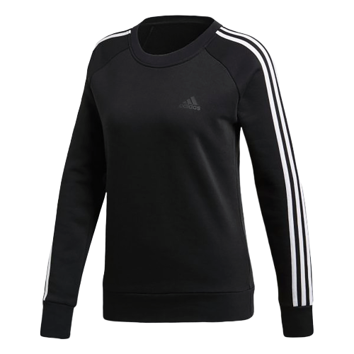 ADIDAS Women's Athletics Cotton Fleece 3 Stripes Sweatshirt