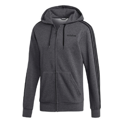 Adidas Men's Essentials 3-Stripes Fleece Hoodie - DX2528