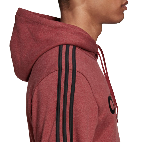 Adidas Men's Essentials 3-Stripes Pullover Hoodie - GD5375