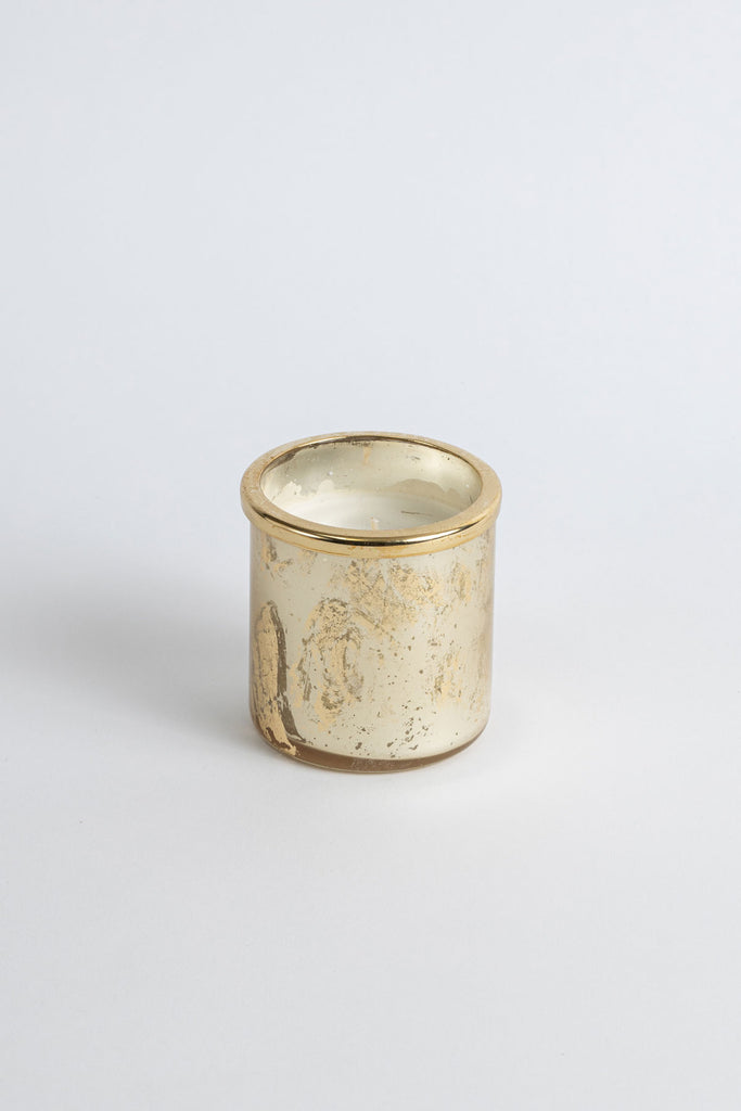 Gold Foiled Cylinder scented candle