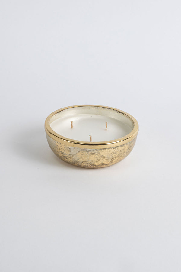 Gold Foiled Mini Bowl | Scented Candle