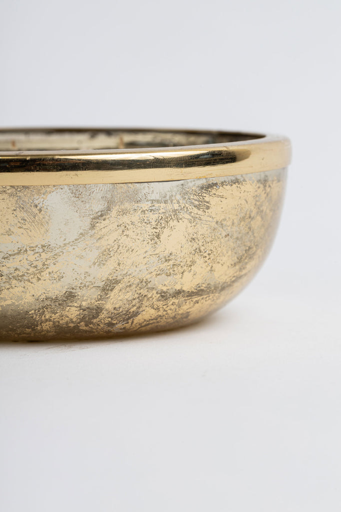 Gold Foiled Mini Bowl scented candle
