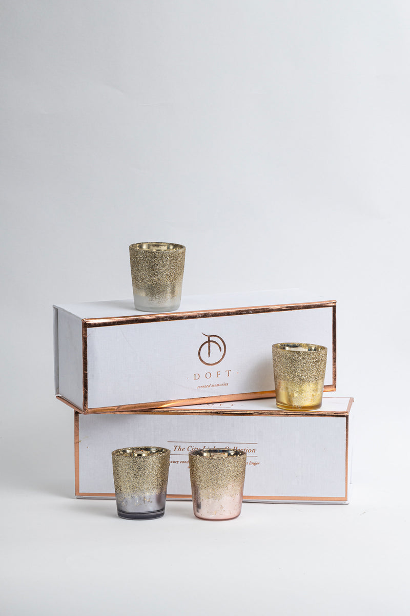 Gliteratti Gift Set (Set of 4) Scented Candles