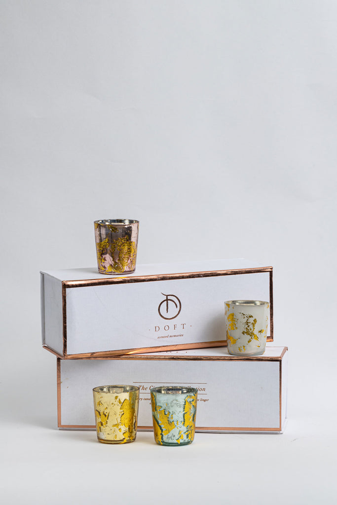 Aurum Gift Set (Set of 4) Scented Candles