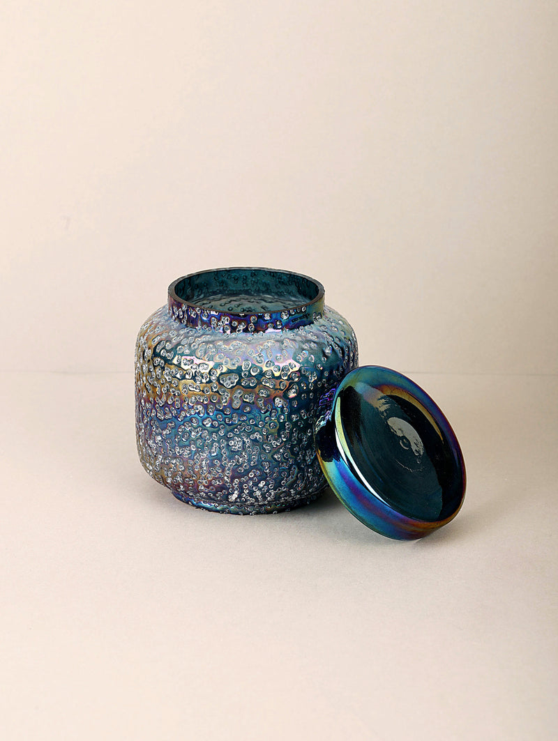 Sugar Pop Lid Jar | Peacock | Scented Candle