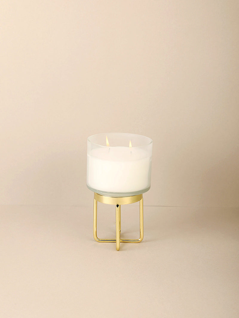 Milky Footed Scented Candle