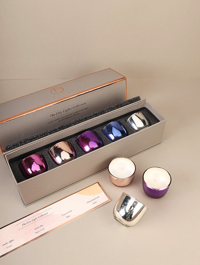 Infinity Gift Set (Set of 5) Scented Candles