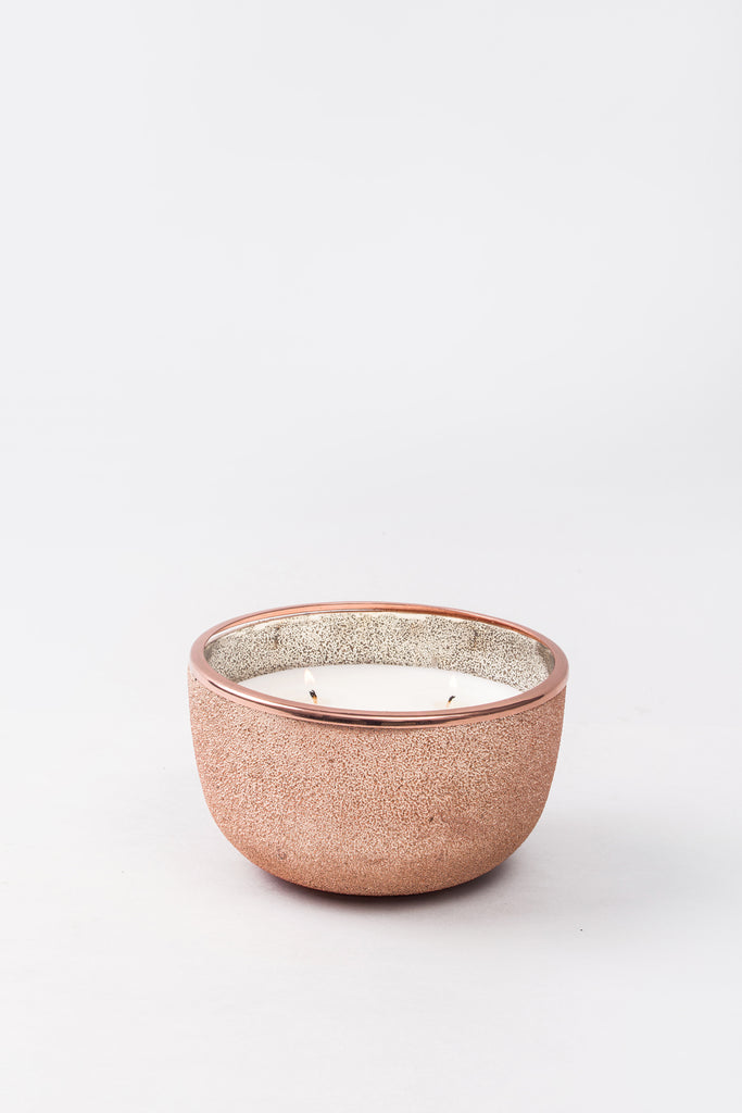 Rose Gold Bowl scented candle