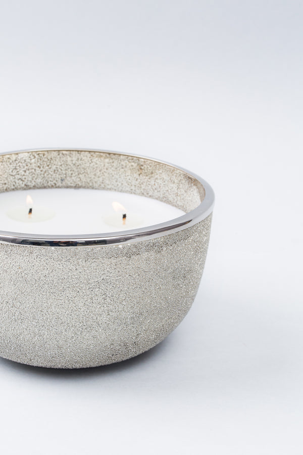 Silver Bowl | Scented Candle