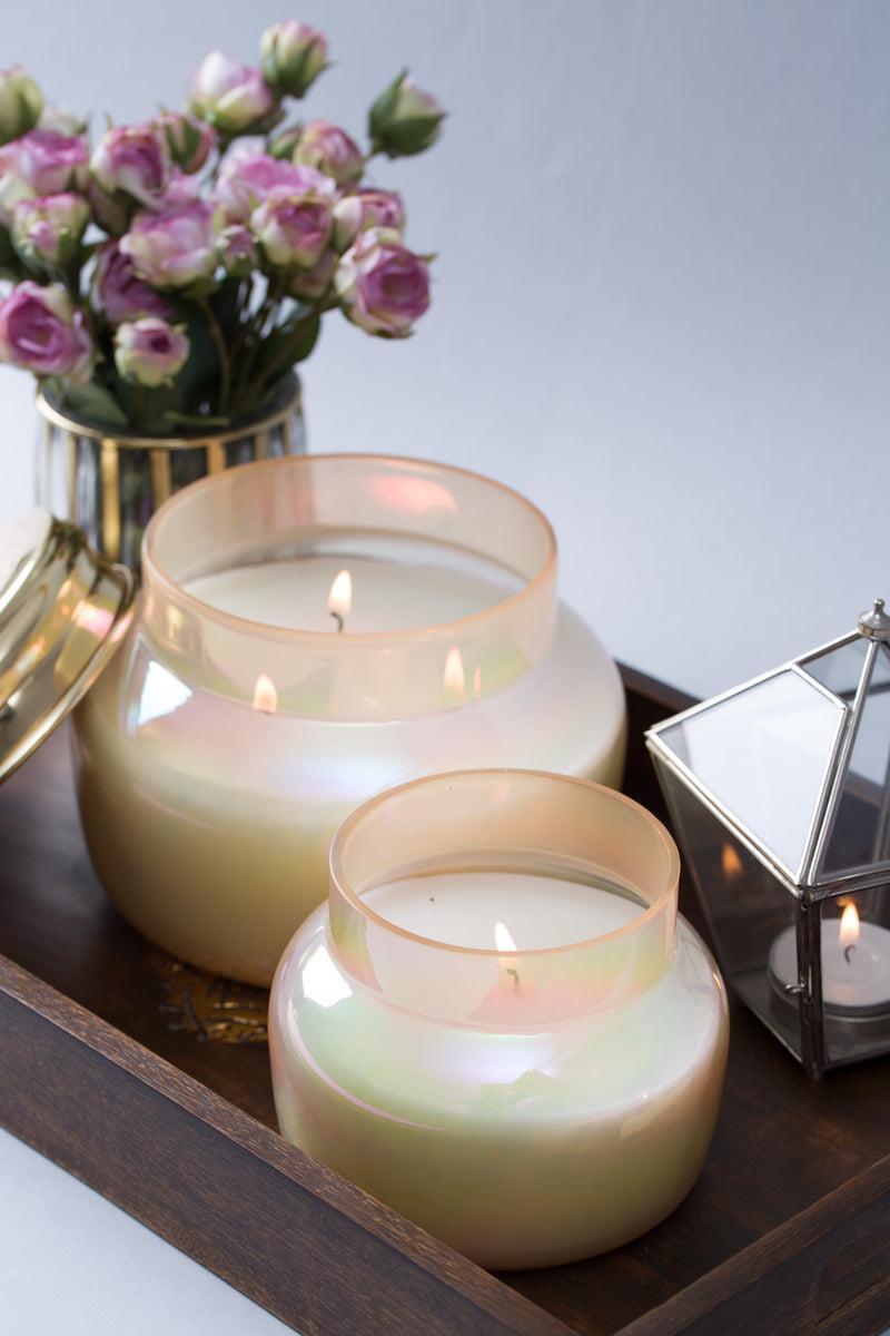 Lustre Lid Jar | Melon | Scented Candle