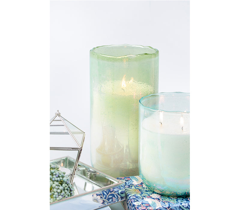 Lustre Hurricane | Elm Green | Scented Candle
