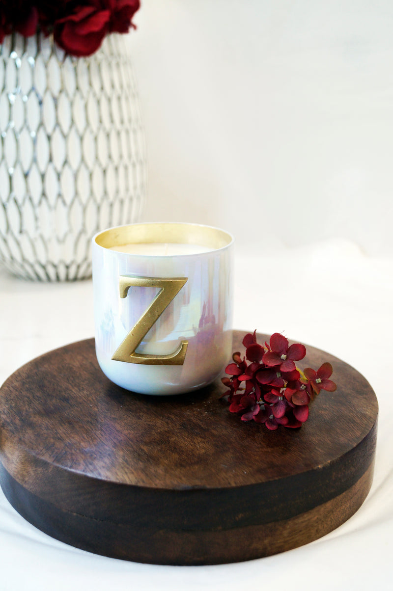 Initial Z | Scented Candle
