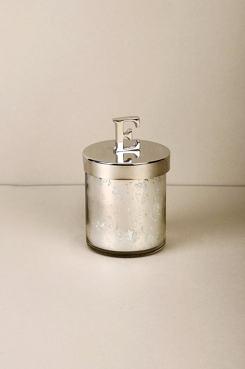 Initial Lid E | Scented Candle