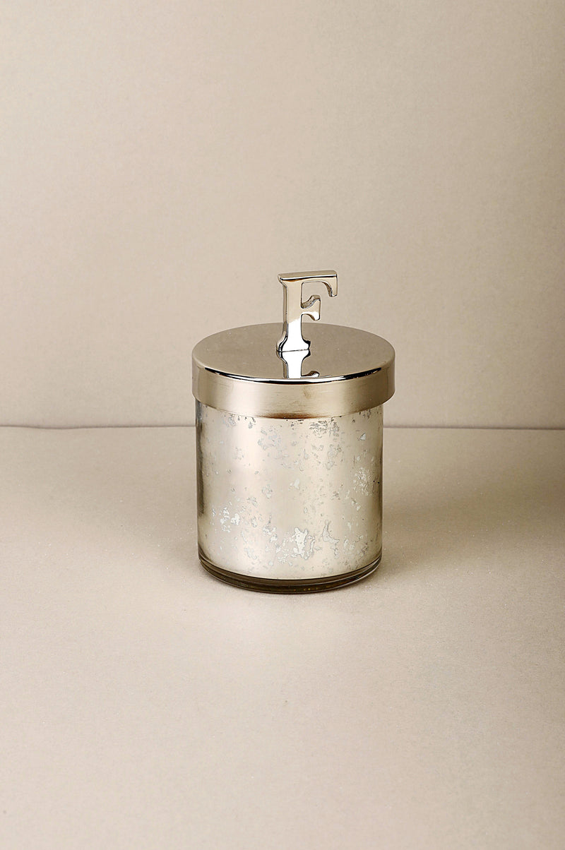 Initial Lid F | Scented Candle