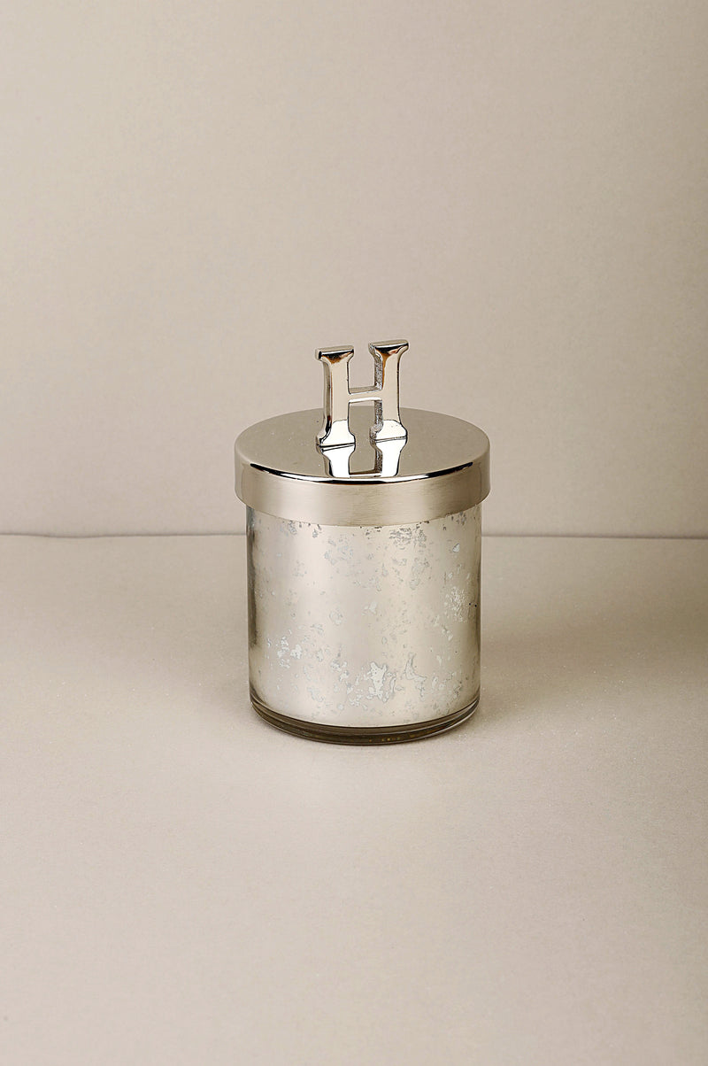 Initial Lid H | Scented Candle