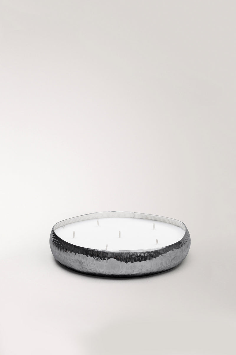 Infinity Tray | Nickel | scented candle