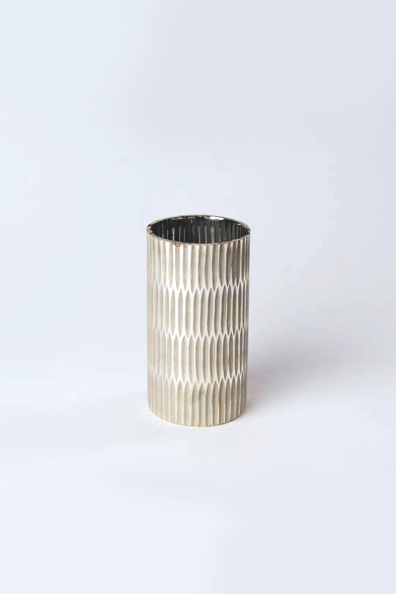 Ivory Pillar Cylinder | Scented Candle