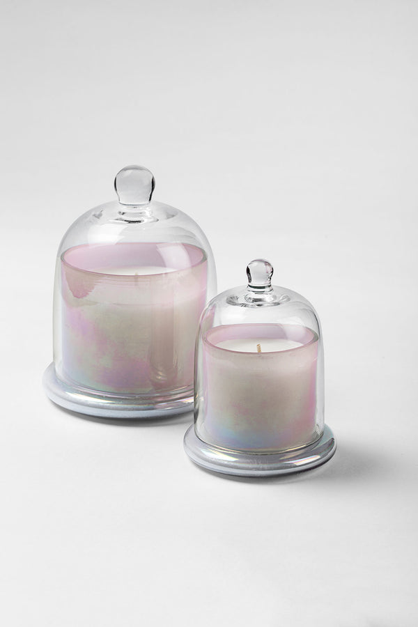 Lustre Bell Jar | Blush Pink | scented candle