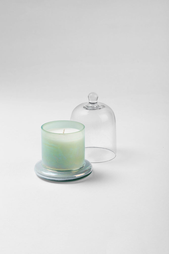 Lustre Bell Jar | Elm Green | scented candle