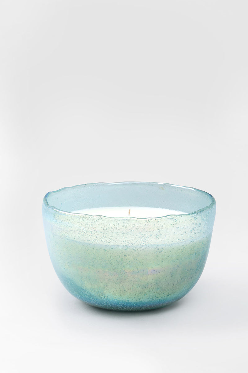 Lustre Bowl | Aquamarine | scented candle