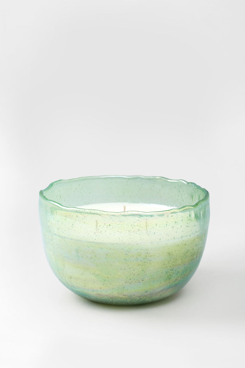 Lustre Bowl | Elm Green | scented candle