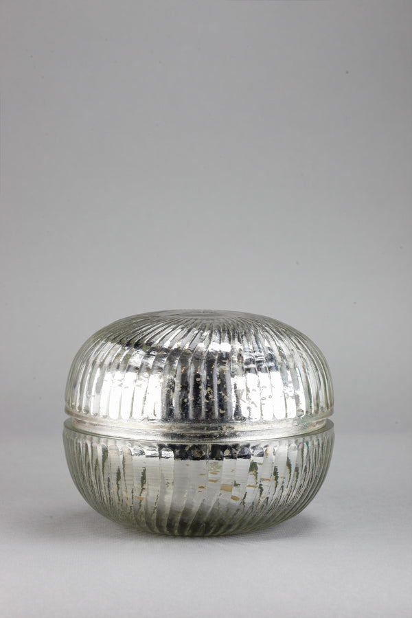 Macaron Jar | Silver | Scented Candle