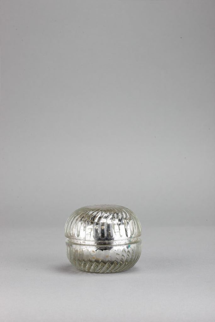 Macaron Jar | Silver |scented candle