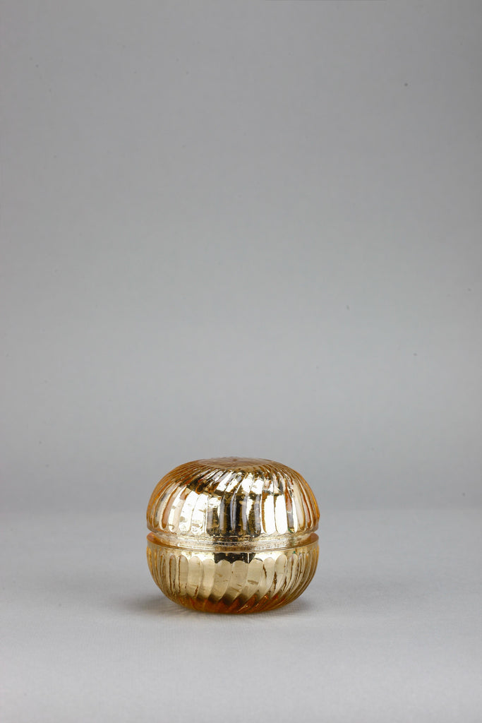 Macaron Jar | Gold | scented candle