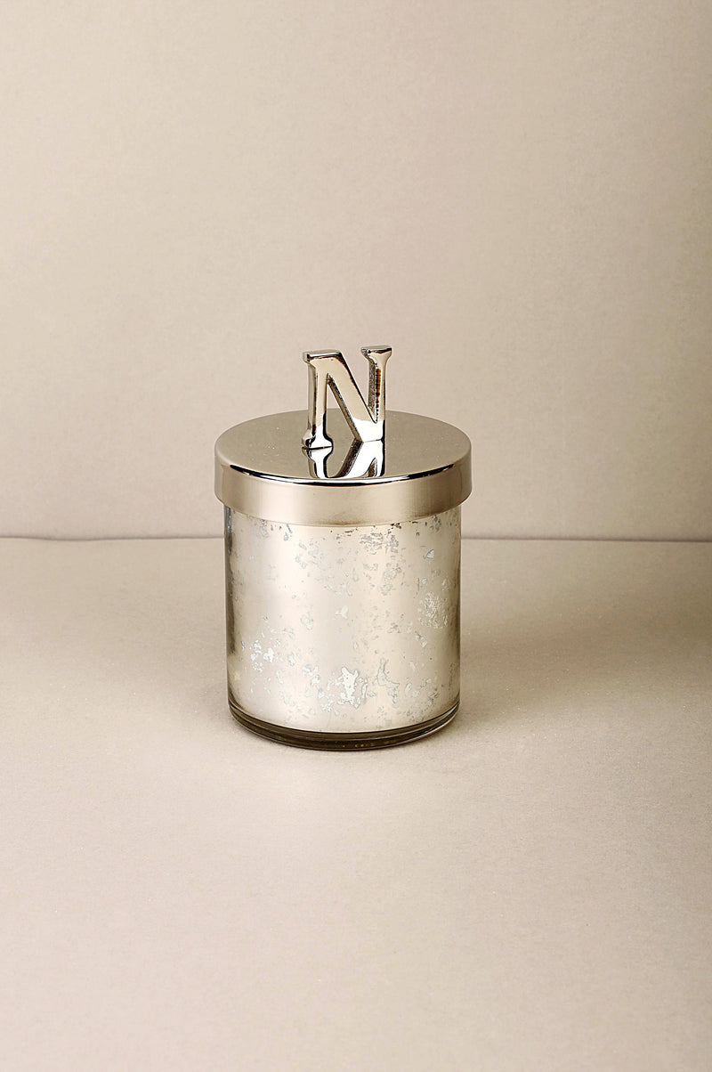 Initial Lid N | Scented Candle