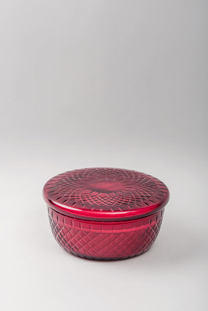 Royal Lid Bowl | Ruby | scented candle